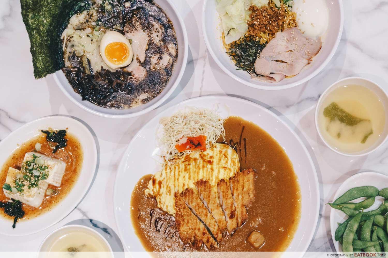 Wafu Japanese Cuisine - Flatlay