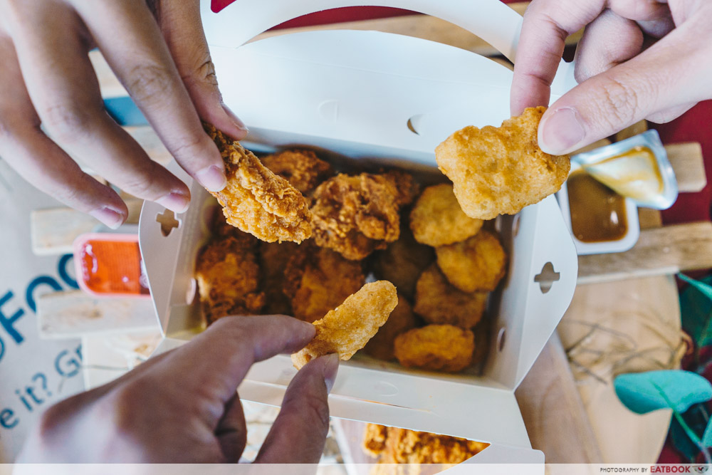 grabfood mcdonalds delivery Happy Sharing Box A