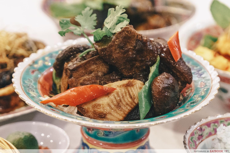 maybank michelin chinese restaurants straits chinese babi pongteh