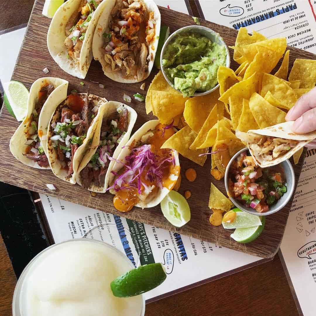 mexican restaurants papi's tacos