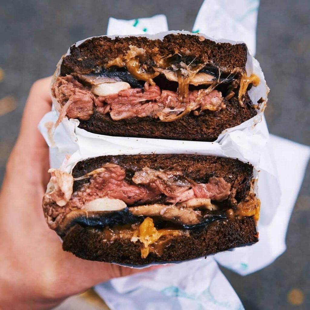 sandwich joint-park-bench-deli-food