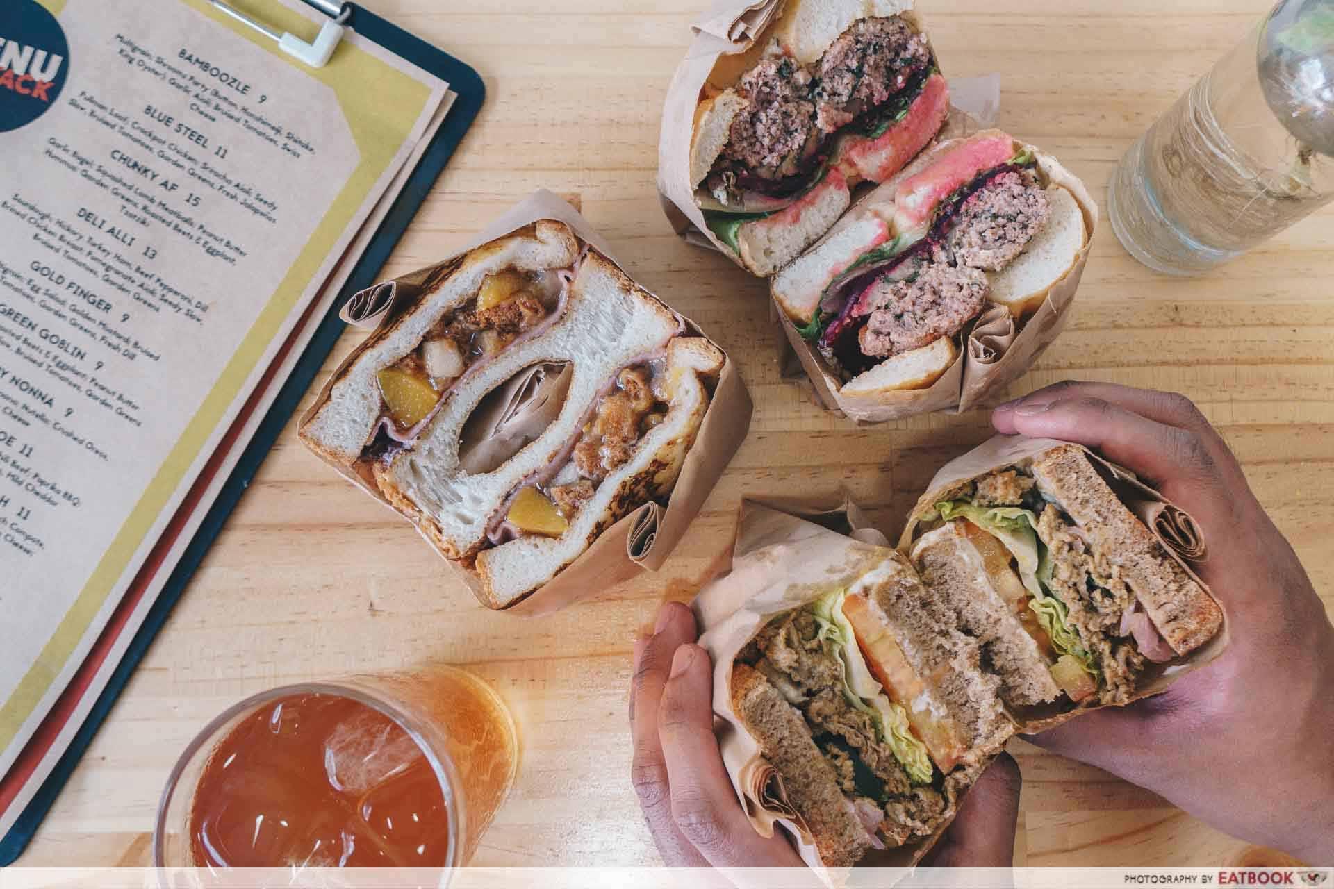 sandwiches stack