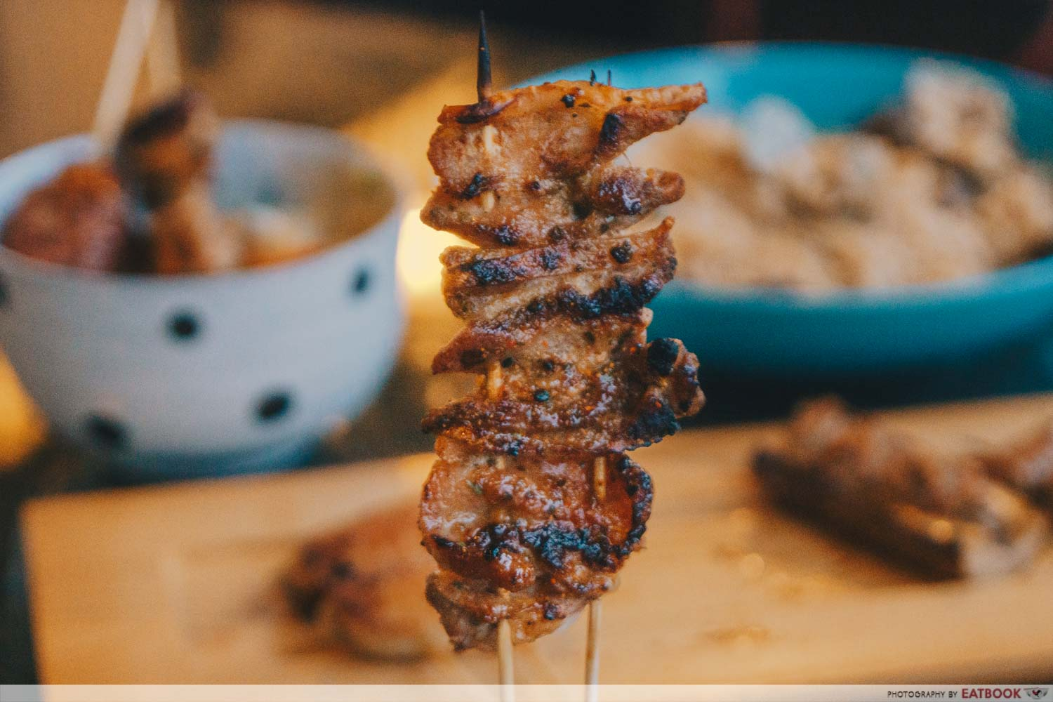 wow skewer bar pork belly skewer