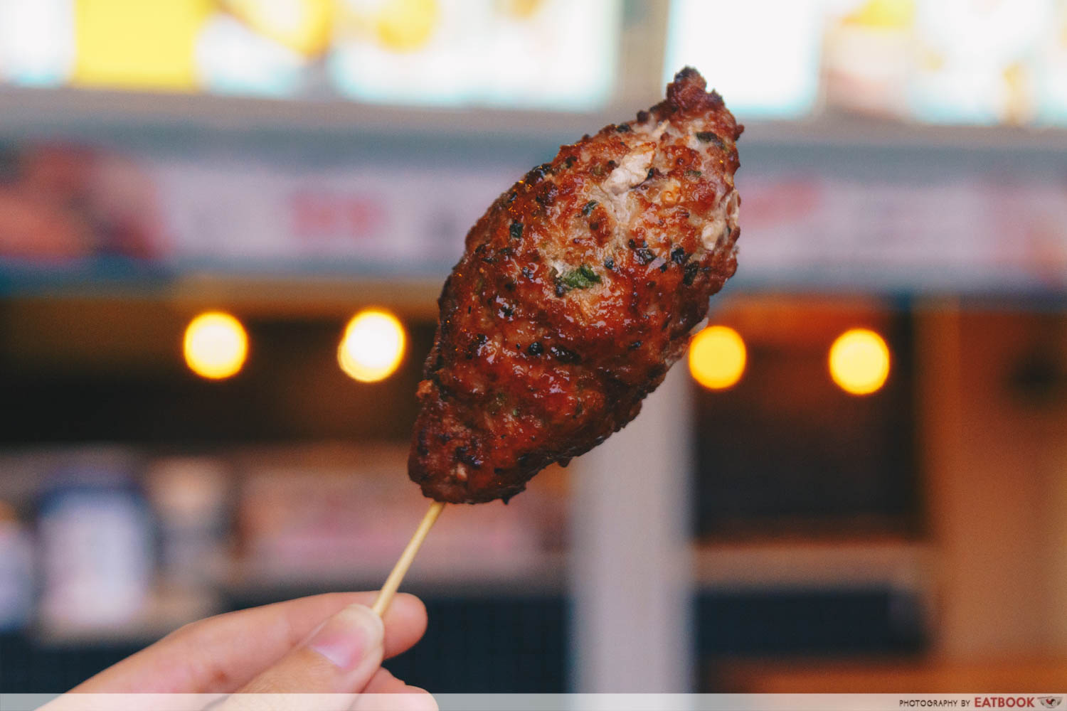 wow skewer bar pork meatball
