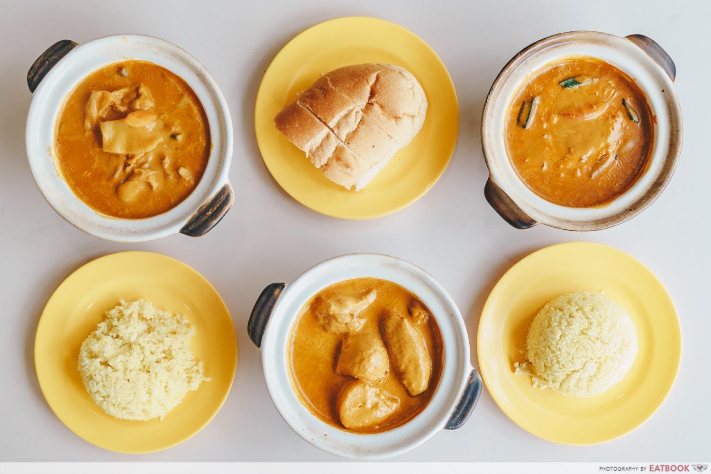 Hock Shun Curry flatlay