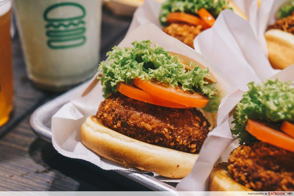 Shake Shack Shrooms Burger