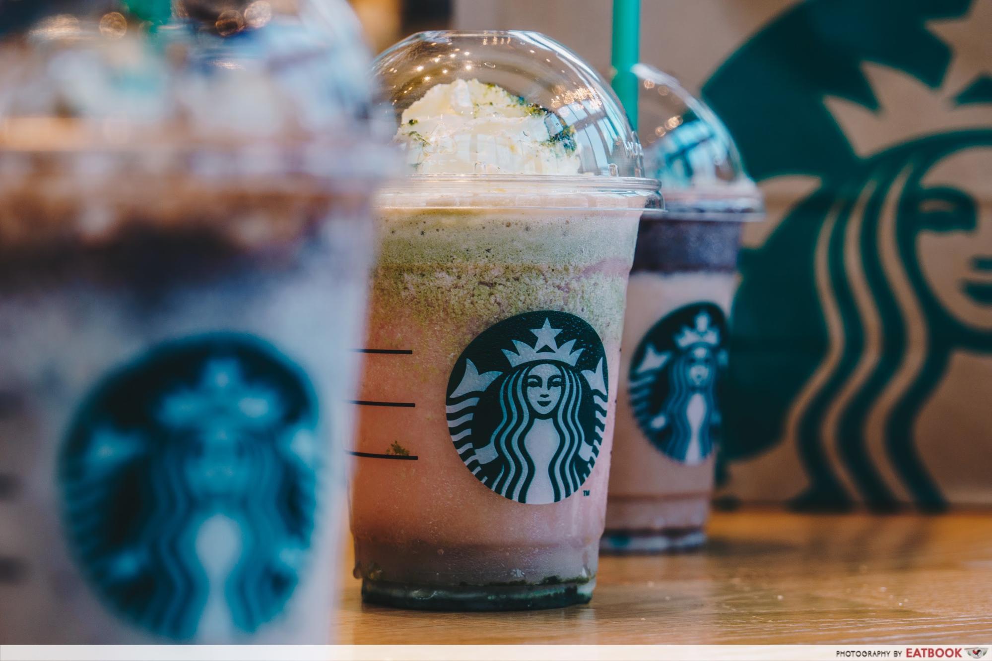 Starbucks Secret Menu Drinks -- Mermaid Frappuccino