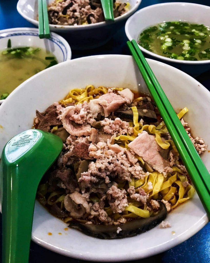 15 Lakeside food - 58 Minced Meat Noodle