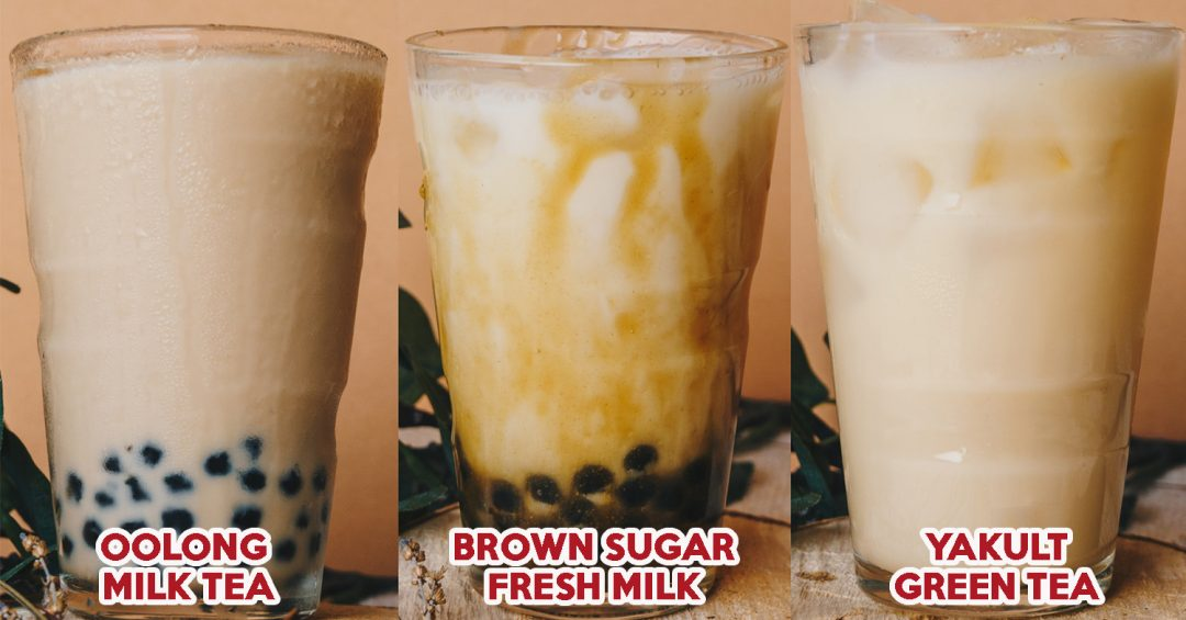3 Bubble tea Recipes - cover image easy reciepies