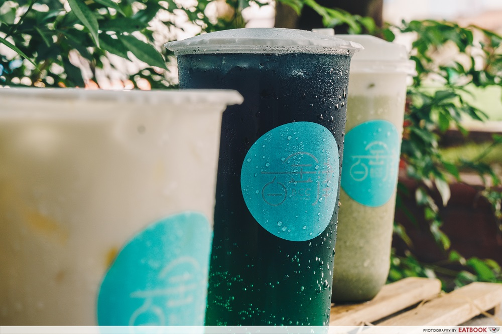 BCC Tea Studio - Galaxy drink colourful bubble tea