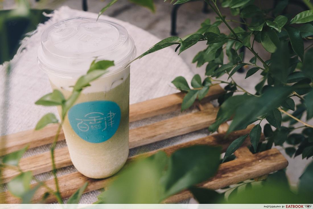 BCC Tea Studio - matcha latte