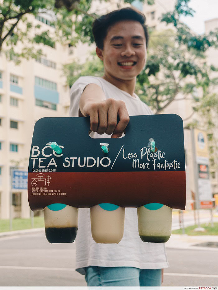 BCC Tea Studio - paper carrier