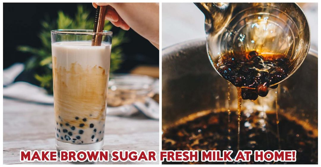 Brown Sugar Fresh Milk Recipe