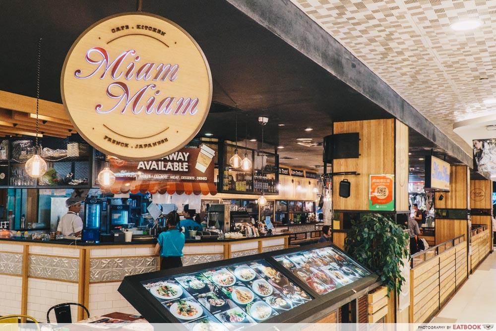 Brunch cafes Miam Miam Bugis