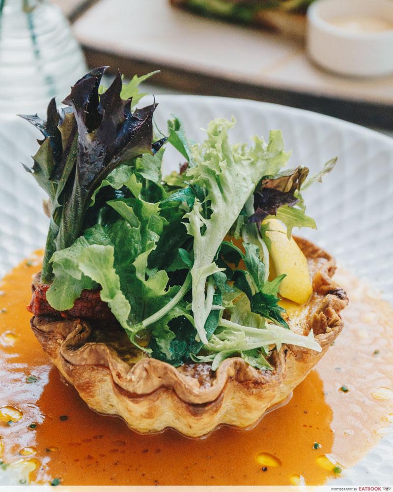 Brunch cafes P.S.Cafe Crab Tart