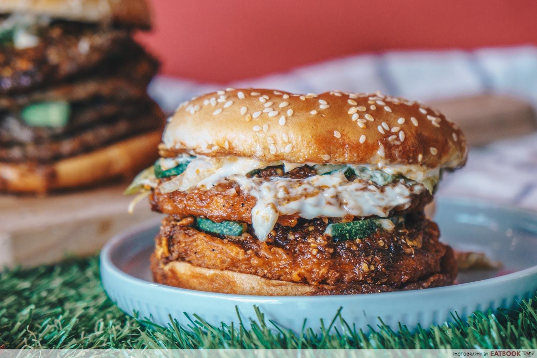 Burger King Mala - CHICK'N CRISP Stacker