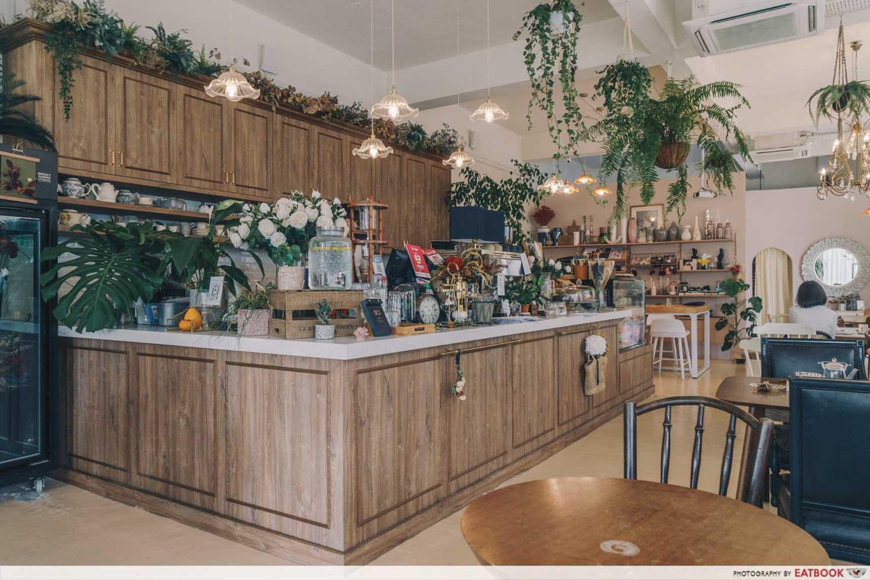 Cafe De Nicole's Flower - Ambience