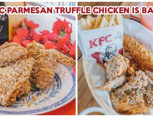 KFC Parmesan Truffle Chicken - Feature Image Draft