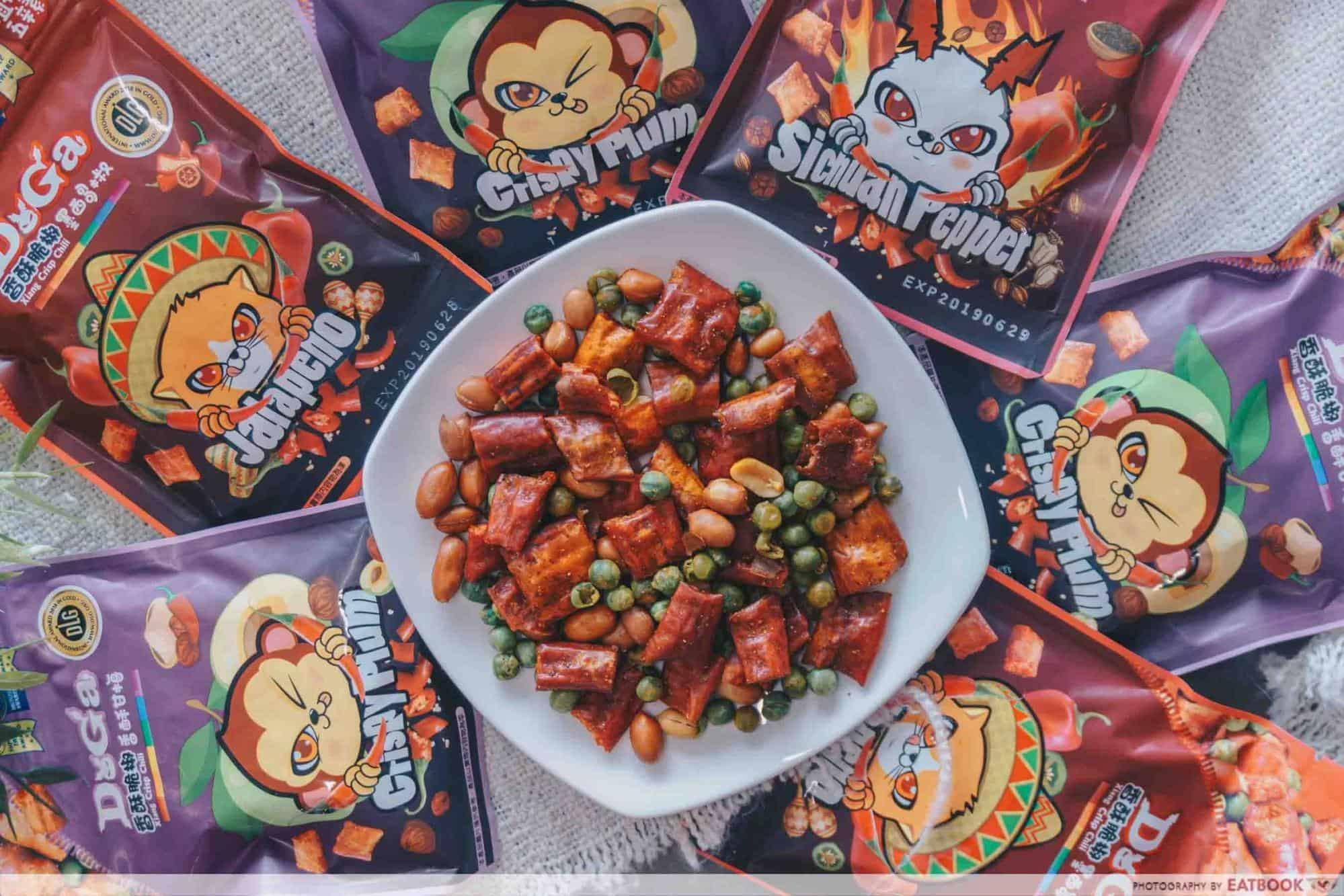 Ma La Snacks - Doga Xiang Crisp Chilli's Mala Snack Mix