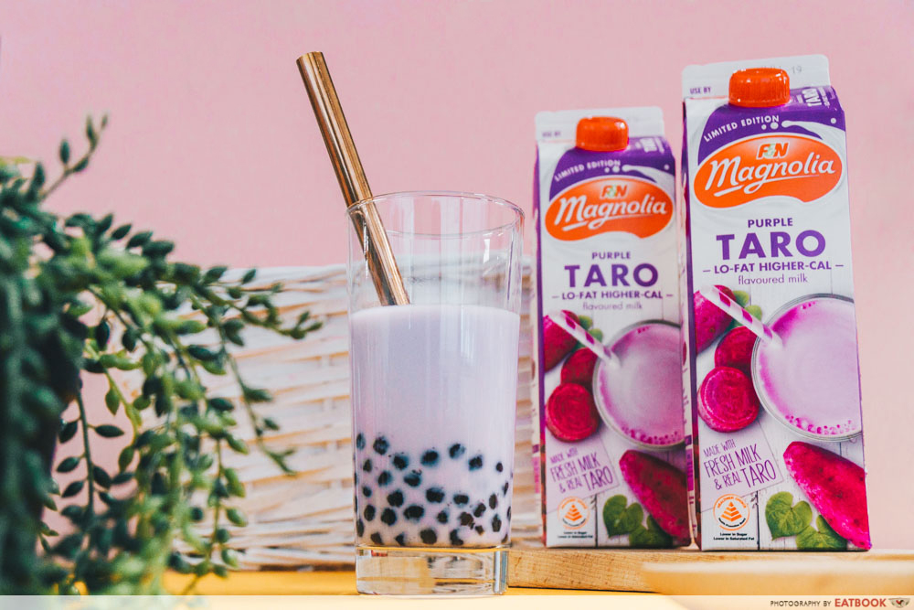 Magnolia - Taro Bubble Tea