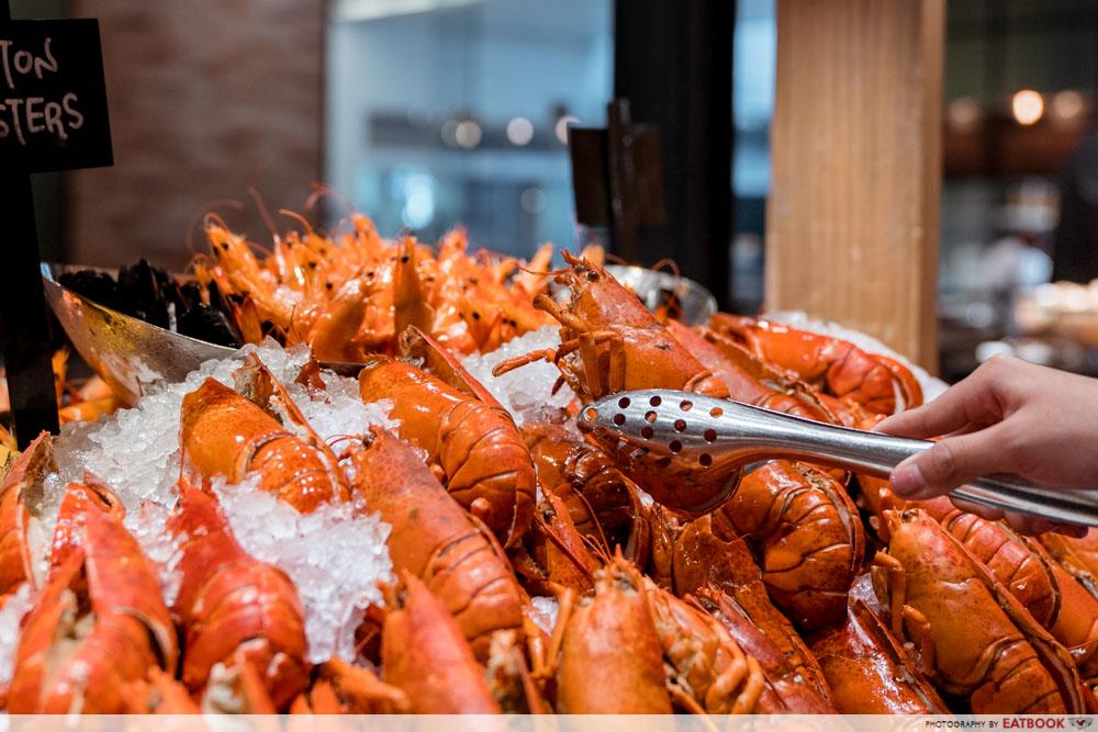 Maybank Buffet - J65 Lobster Buffet
