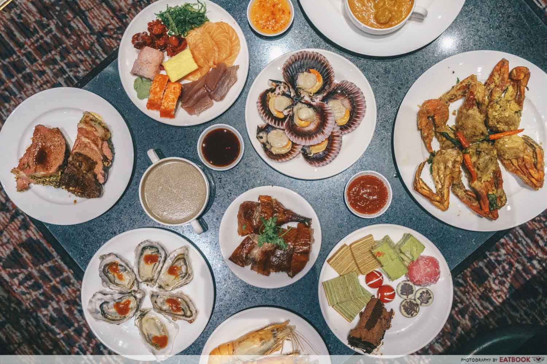 Maybank Buffet - The Dining Room Flatlay