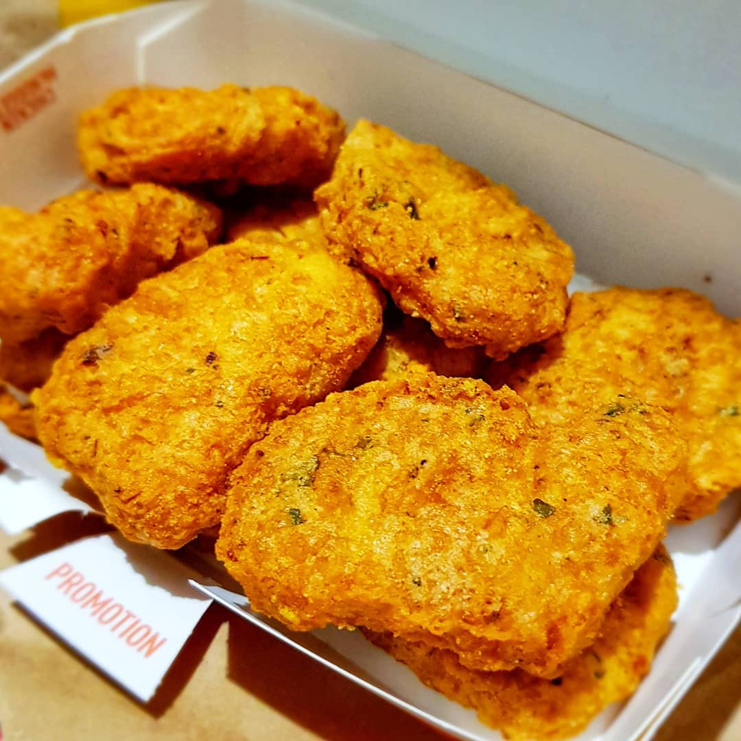 McDonald's Spicy McNuggets Is Back With Purple Sweet