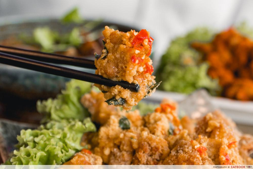Paradise Gastronomy - ma la chicken nugget
