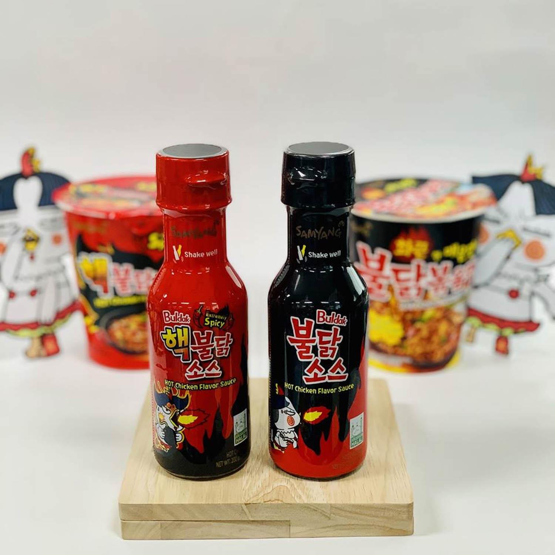 Samyang Gyoza - Samyang Hot & Spicy Sauce
