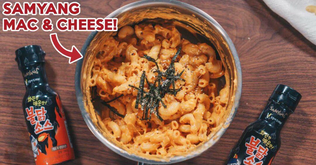 Samyang mac and cheese