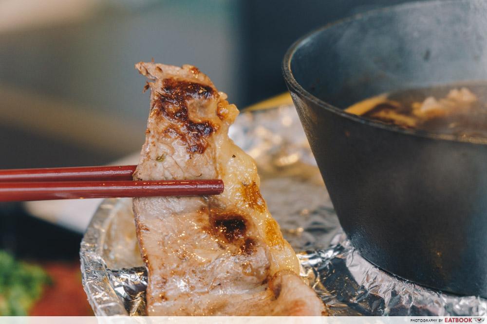 Sedap Mania - sirloin beef cooked