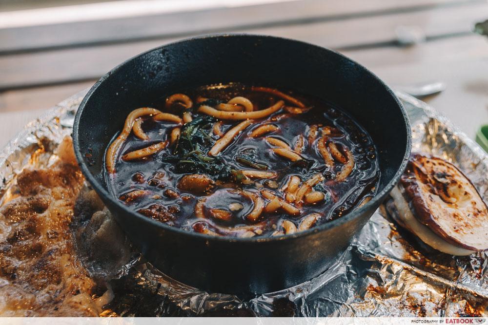 Sedap Mania - udon noodles in ma la soup