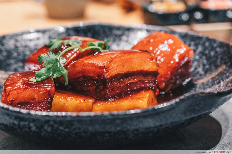 Shang Social - Jewel Jiang Nan Wok Braised black marbeled pork