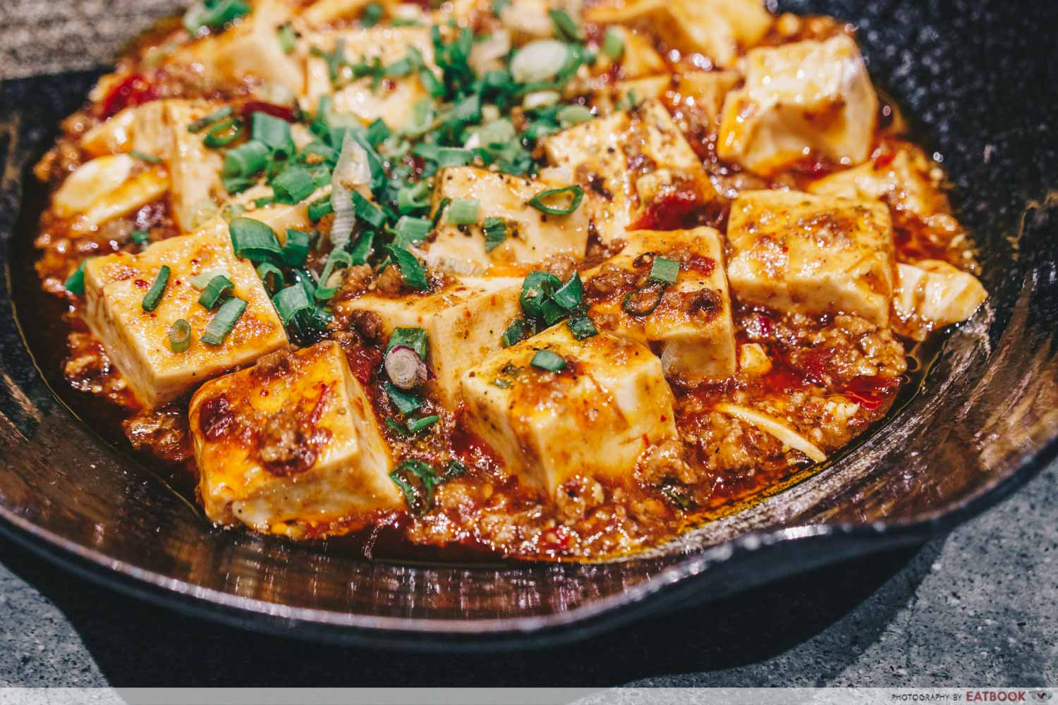Shang Social - Jewel Mapo tofu with minced beef