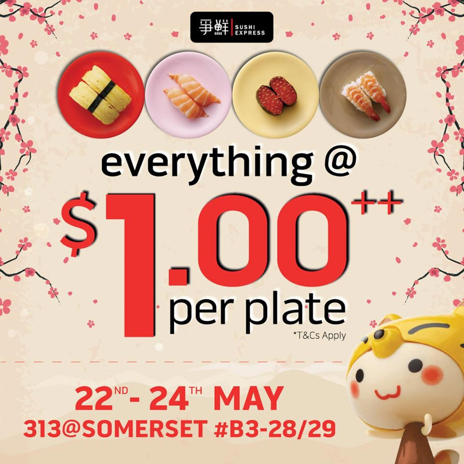 Sushi Express Somerset - Promotion Introduction