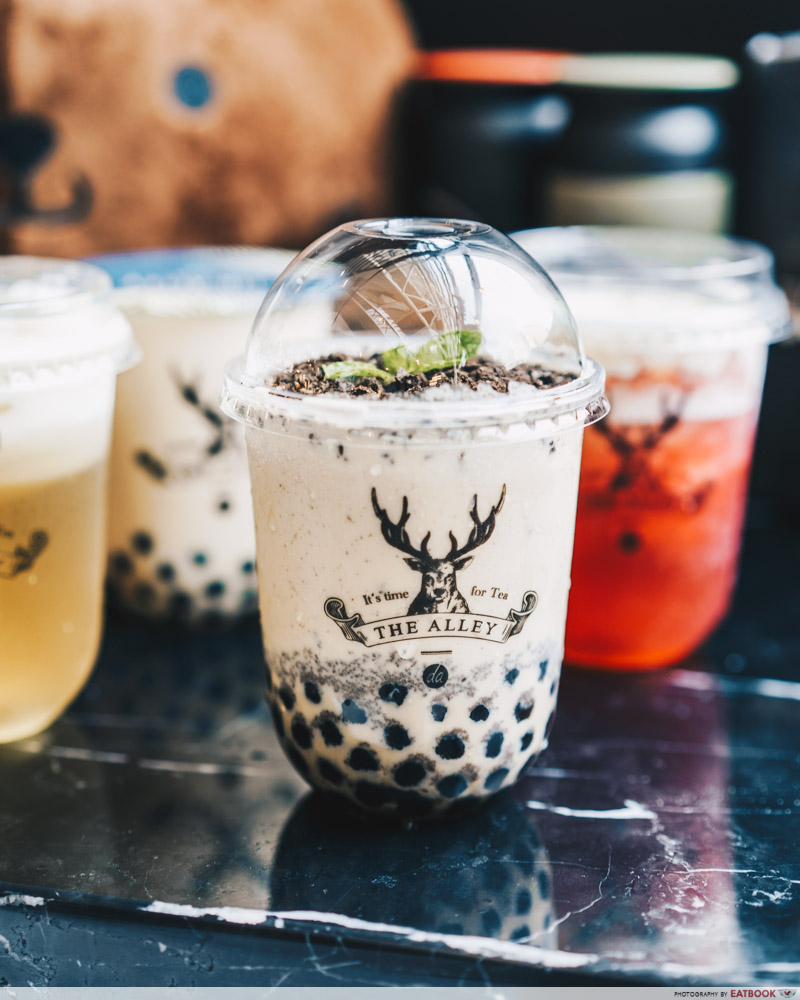 The Alley Garden Milk Tea