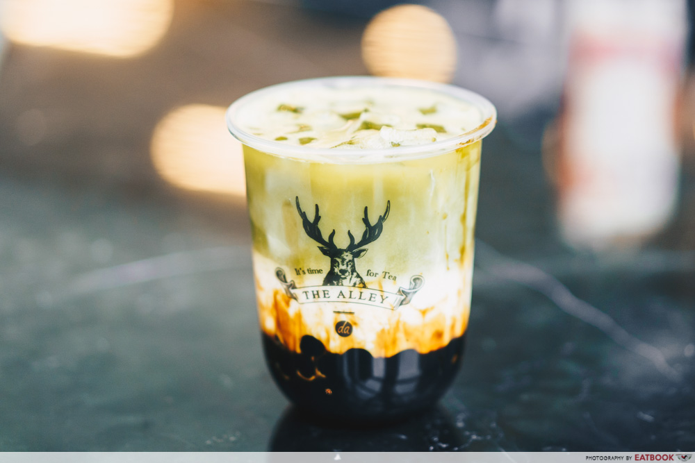 The Alley Luxe - Matcha brown sugar