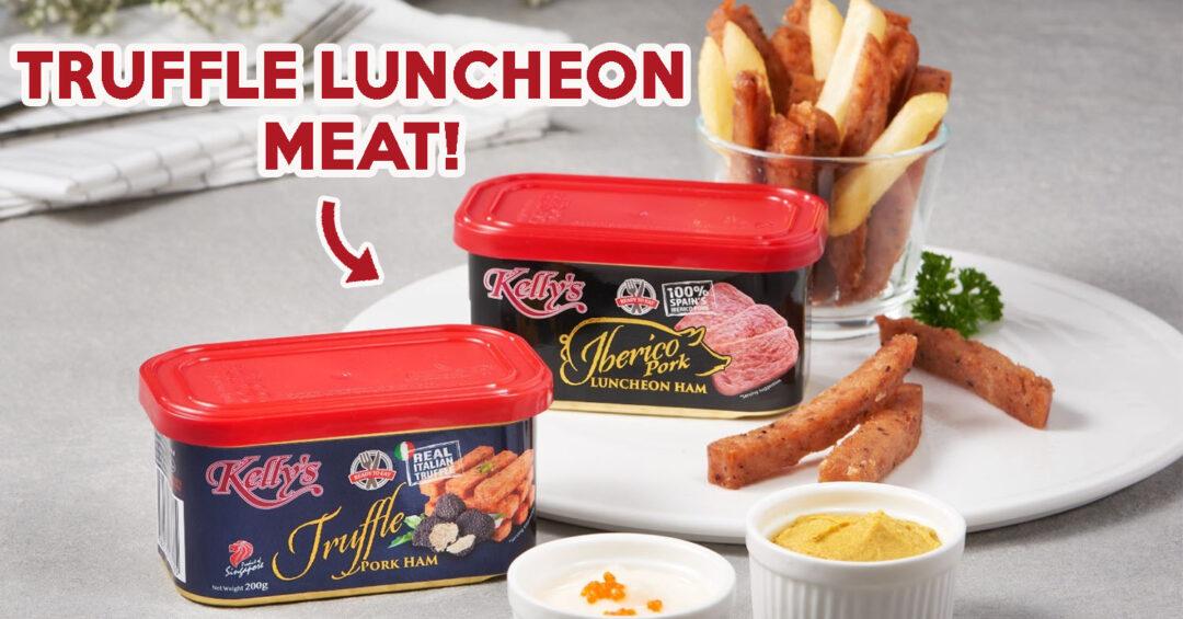 Truffle Iberico Luncheon Meat