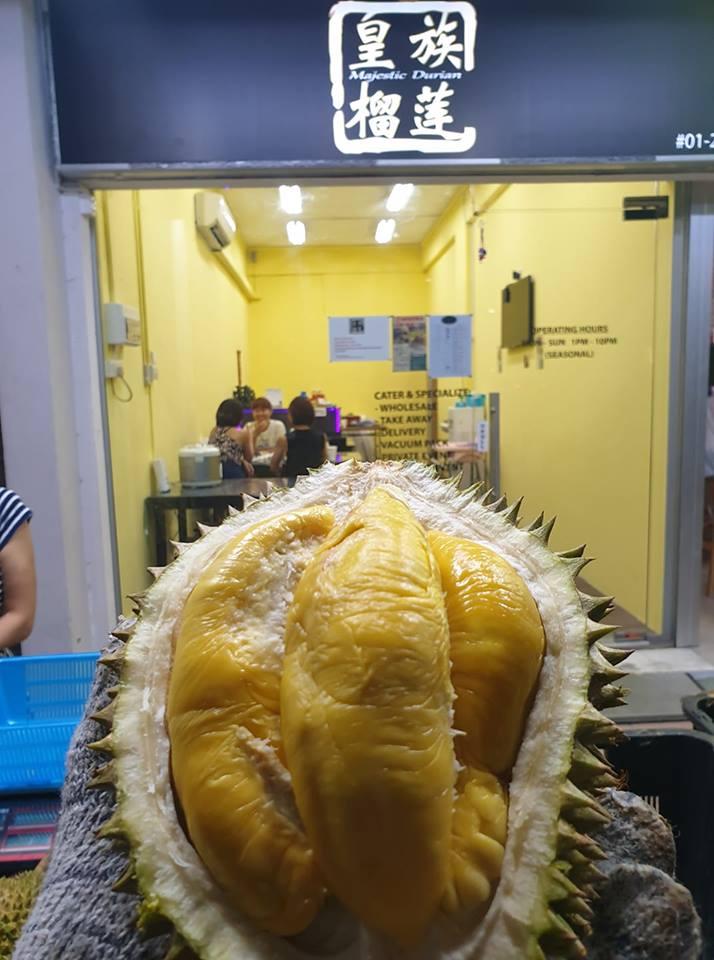 bedok durian buffet