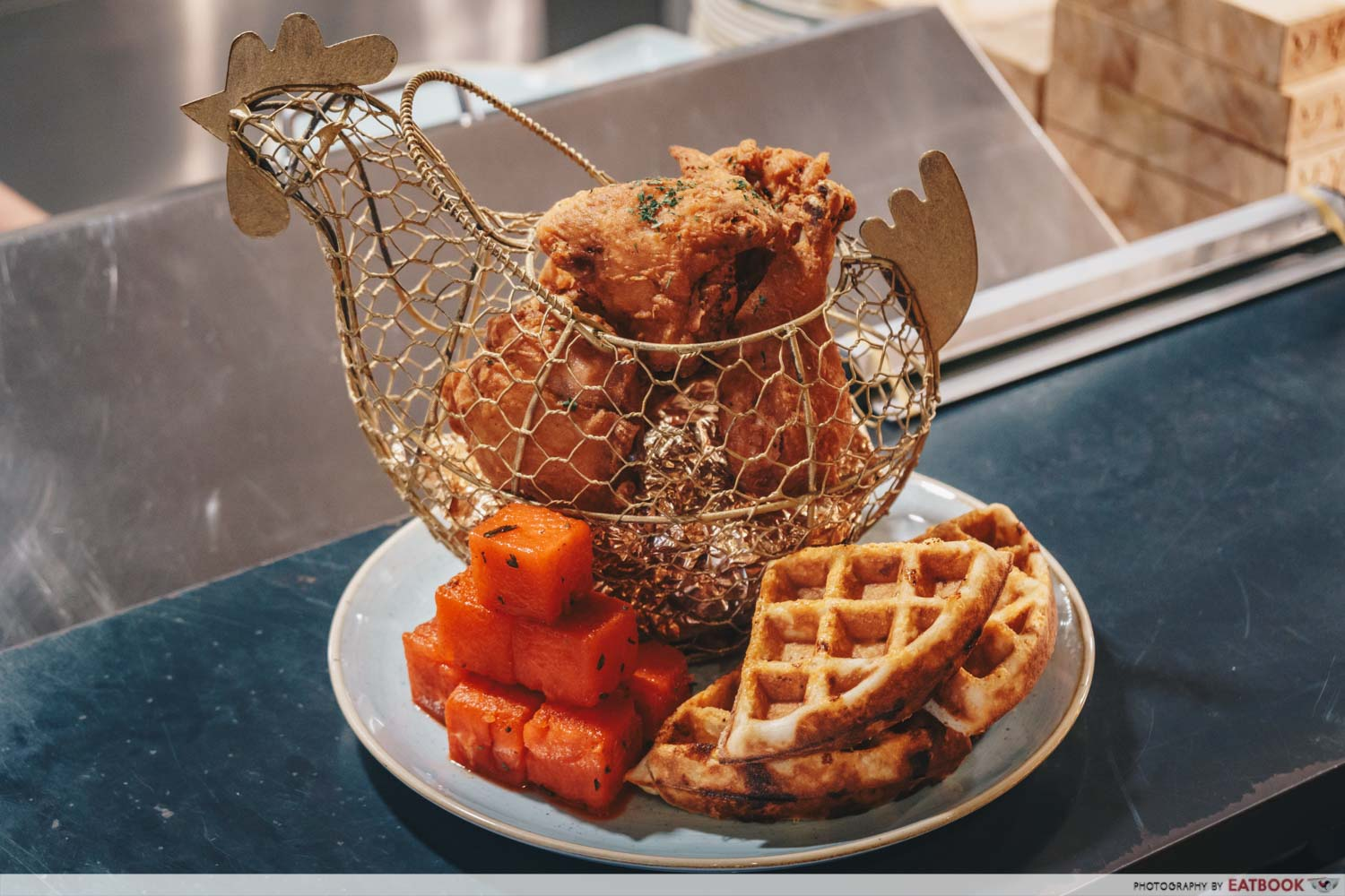 international fried chicken chicken and waffles yardbird southern table and bar