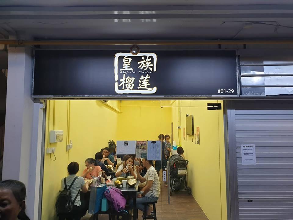 mao shan wang durian buffet majestic