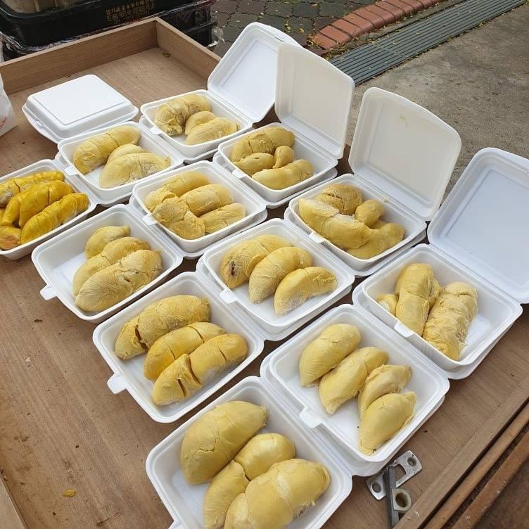mao shan wang durian buffet