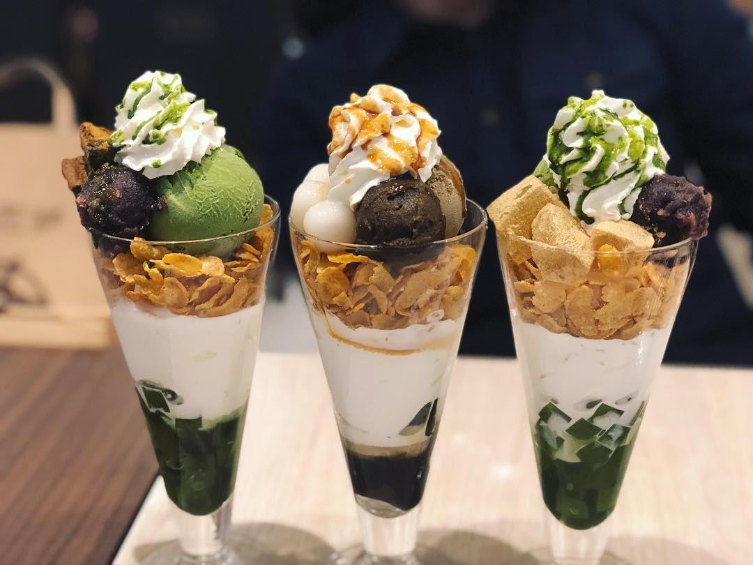 matcha desserts nana's green tea