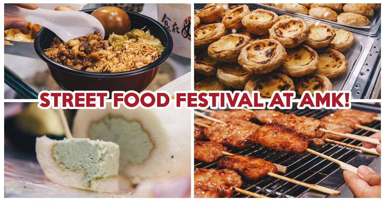 AMK Hub Street Food Festival Has SEY Fried Chicken & Durian