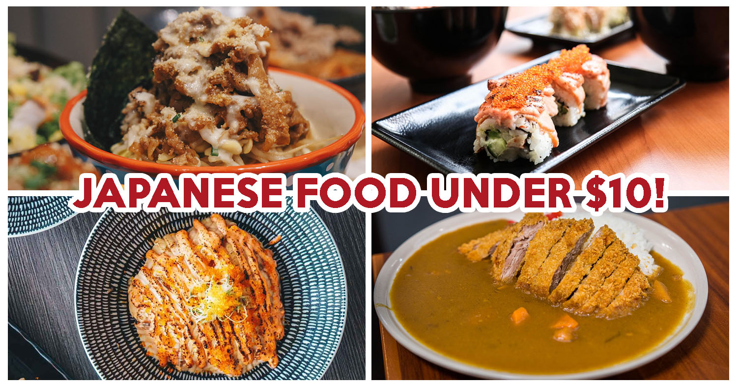 15 Cheap Japanese Food Joints Under 10 Serving Halal Beef Bowls And Salted Egg Ramen Eatbook Sg New Singapore Restaurant And Street Food Ideas Recommendations