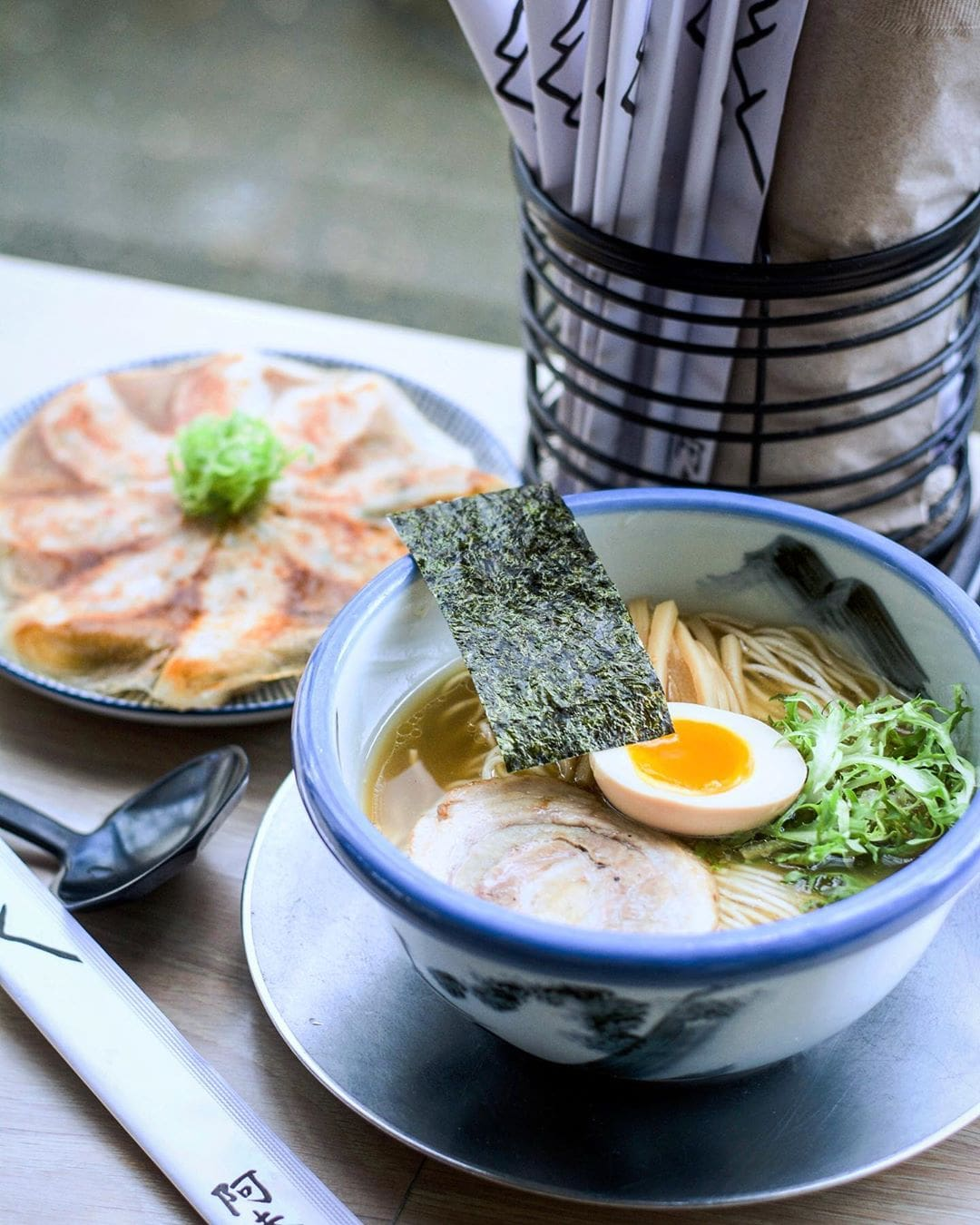 Afuri Ramen - yuzu shoyu ramen and dumplings