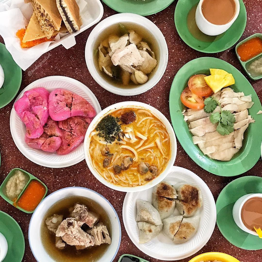 Coast-to-Coast Food - Yuhua Market and Hawker Centre