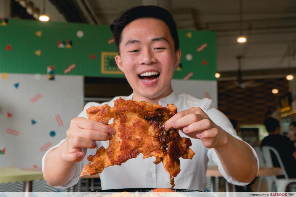 Daburu - big chicken chop