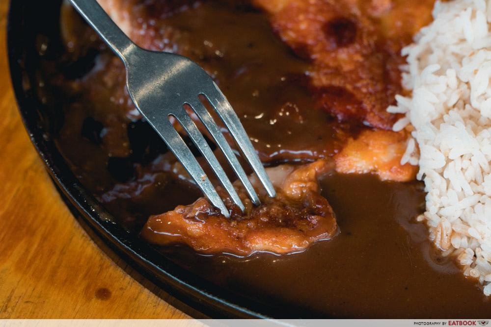 Daburu - chicken chop in sauce