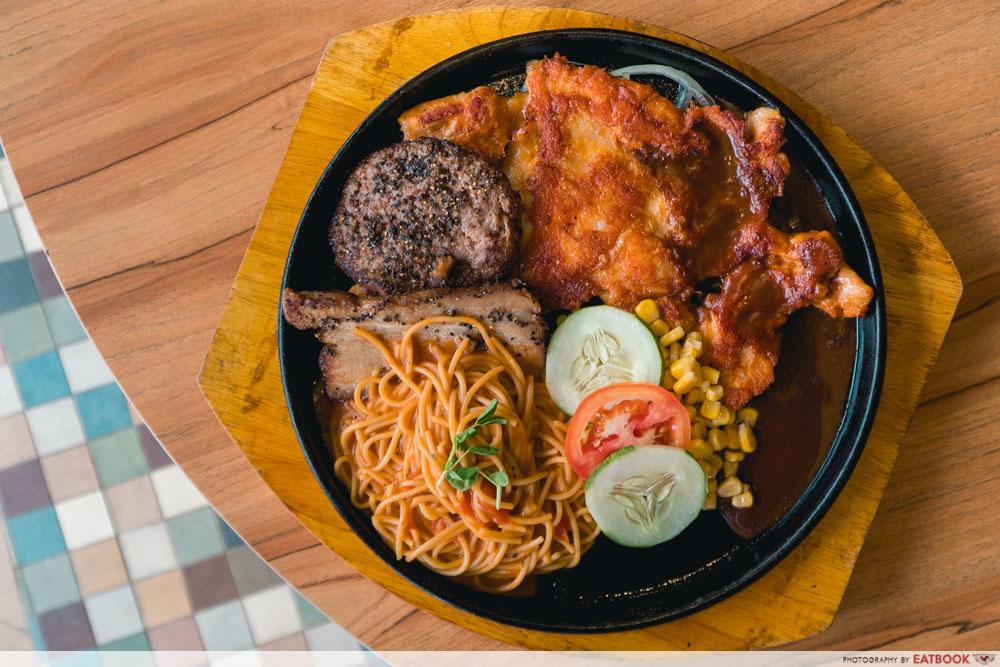 Daburu - meat lovers platter